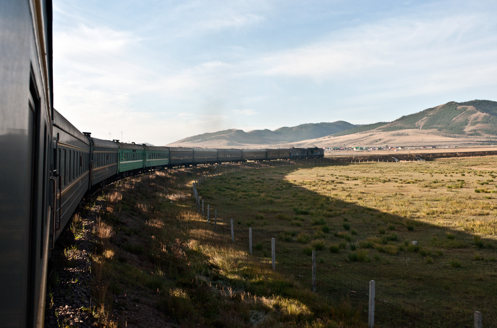 Mongolia from the Trans Siberian Railway